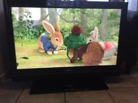 "39"" LG LCD tv with HD freeview remote hdmi's good condition"