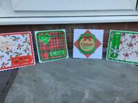 HANDMADE, PERSONALISED CHRISTMAS CARDS
