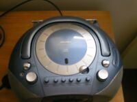 BUSH DAB/FM Radio, cassette player, CD Player Boombox