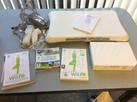 Wii Fit & Sport plus Balance Board, inc instruction books, manuals & CD