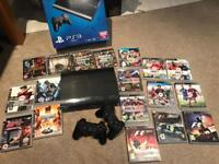 PlayStation 3 500gb + Many games