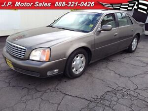 2002 Cadillac DeVille Automatic, Leather, Sunroof, Heated Seats,