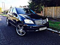"Mercedes M Class 7G-Tronic Sport, Half Leather Suede Seats, Heated Seats, 20"" 5 Spoke ALLOY"