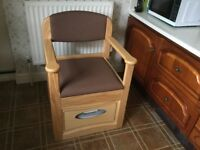 Priced Dropped - Flushing Commode