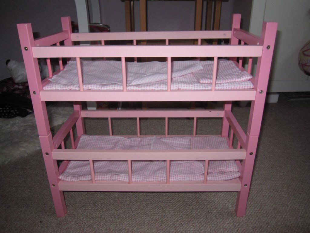 Wooden Dolls Bunk Bed Accessories In Archway London Gumtree