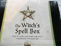 Witches spell box