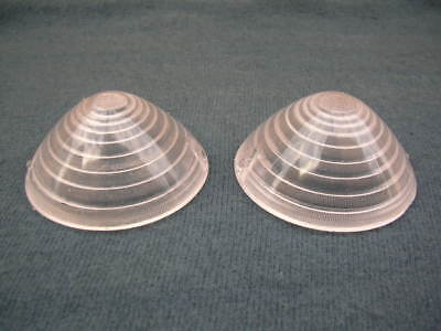FIAT 600 & 1100 FRONT TURN SIGNAL LENS SET NEW !!!!!!