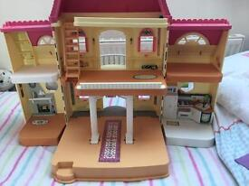 Fisher price doll mansion