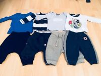 Baby Boys Clothing Bundle 3-6 Months, Next and converse