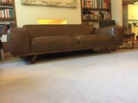 Otto 3Seaters leather sofa