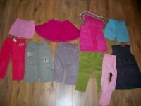 Bundle of girls clothes age 12-18 months
