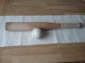 Rounders Bat and Ball