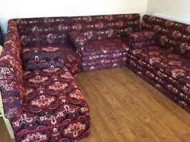 Used Arab seating sofas but very good condition 4 pieces