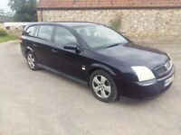 Vauxhal vectra 2.0dti diesel long mot , 2owners from new