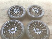 17 Black 4x108 alloy wheels