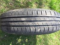Wheel and Tyre for sale 175/80R/14