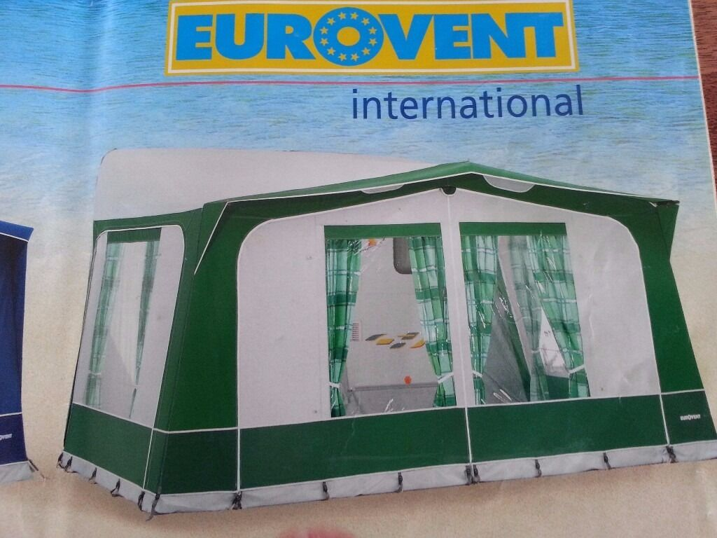 Caravan Awning Eurovent Soleria In Saltash Cornwall