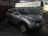 Nissan Juke 1.6 16v Acenta 5dr £5,885 p/x welcome FREE WARRANTY, NEW MOT