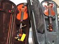 Violin 1/2 size - great condition
