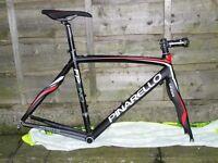 NEW Pinarello FP road bike, 54cm frame set new saddle, post etc. CARBON FORKS, & FRAME