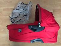 Quinny baby red dreami carrycot