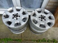 Mercedes 16inch Alloy wheels Urgent sale!!!!
