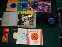35 Vinyl 45s – Various Artists