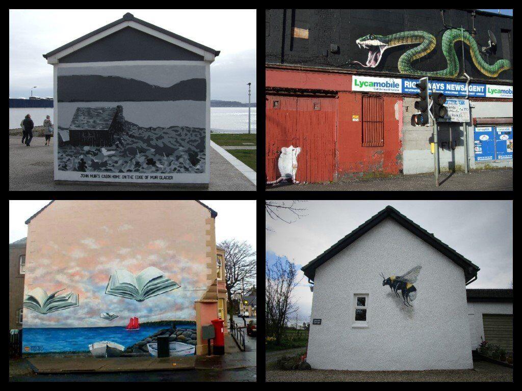 Professional graffiti mural artist for hire 20 years experience in grassmarket edinburgh gumtree