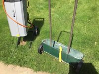 Lawn spreader, easy to use