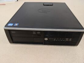 HP Elite 8300 SFF i7 PC with Win 10 Pro