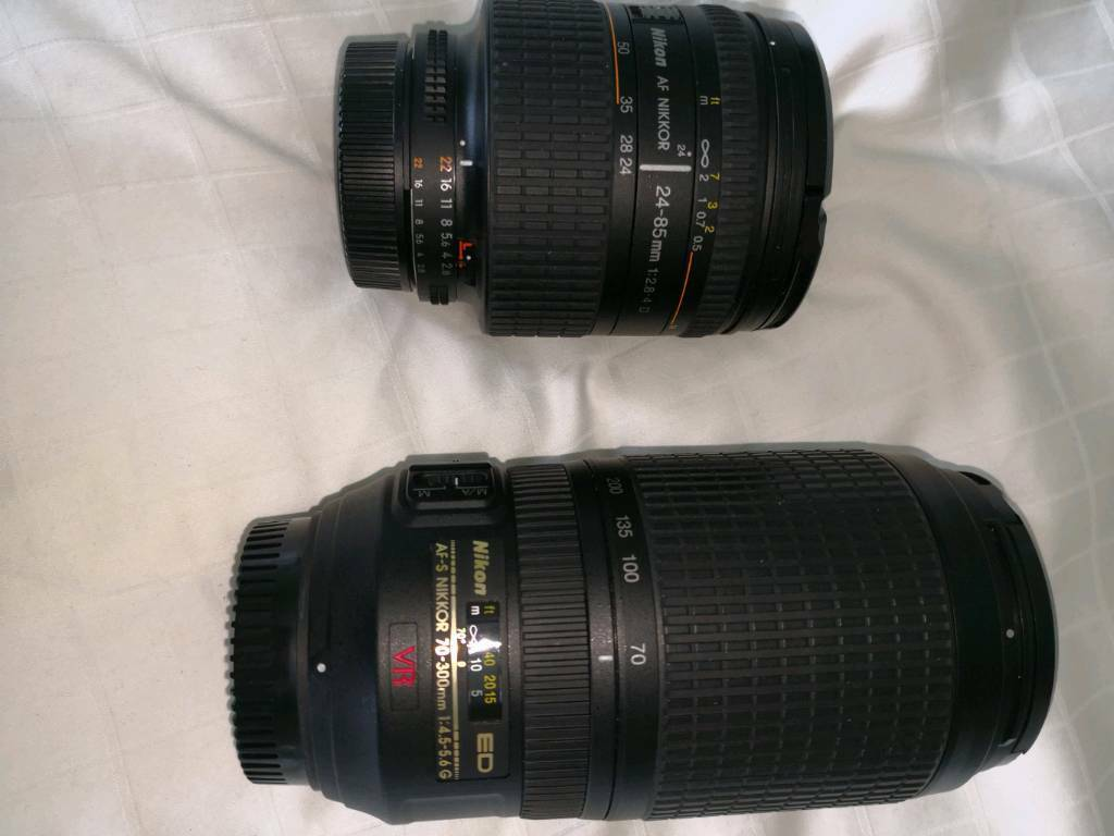 Nikon fx full frame lenses | in Cuddington, Cheshire | Gumtree