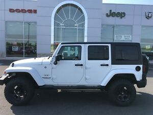 2016 Jeep WRANGLER UNLIMITED SAHARA 4-door  / HARD TOP