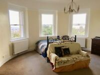 Huge beautiful room with fabulous views in superb, friendly Grade II listed building.