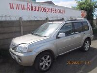 Nissan X-Trail Sport DCI 2005 2.2 Estate breaking for spares Wheel Nut.