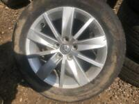 VOLKSWAGEN POLO 2017 ALLOYS