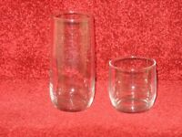 ANCHOR - USA - GLASSES - total 27 brand new & boxed, 2 sizes, ideal for home, pub, hall, party, etc
