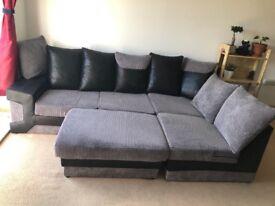 Clean comfy sofa. Pet and smoke free