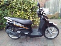 2013 Peugeot Tweet 125 scooter, 12 months MOT, very low miles, good condition, perfect runner,,,