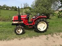 Yanmar 17 d Compact tractor 4x4 low hours