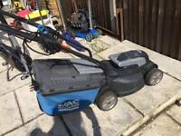 large mac allister electric lawnmower