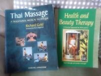 5 Books, Health & Beauty NVQ L3, Thai Masssage, Aromatheropy, Homeopathy and Crystals