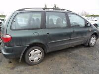 ford galaxy parts from a 1999 1.9 tdi car green