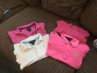 Girls pink Ralph Lauren bundle