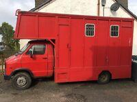 Horse box 5.5 ton