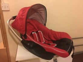 Baby Red Car Seat (Never Used) - Collection Only - £20.00