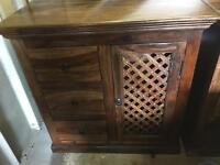 Real wood sideboard