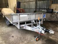 2015 Ifor Williams Flat Bed Trailer