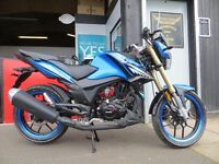 2017 Lexmoto 125cc ZSX-R - £1899. Learner Legal - Finance Subject to status.