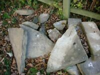 York stone - reclaimed pieces various sizes