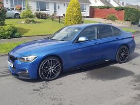 F30 Bmw 3 series m performance front lip brand new gloss black to fit m sport modle only